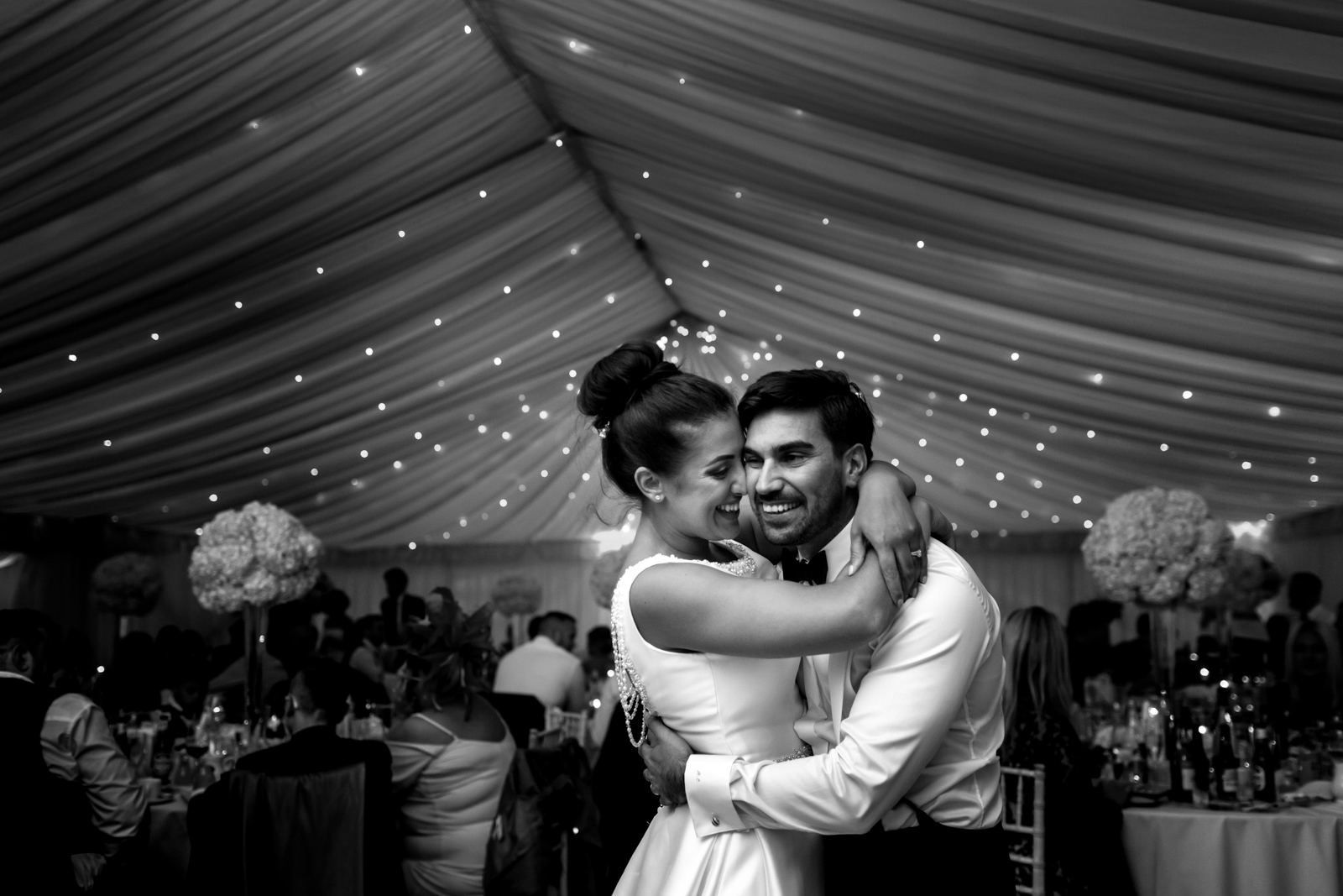 Marquee wedding photography Richmond Surrey