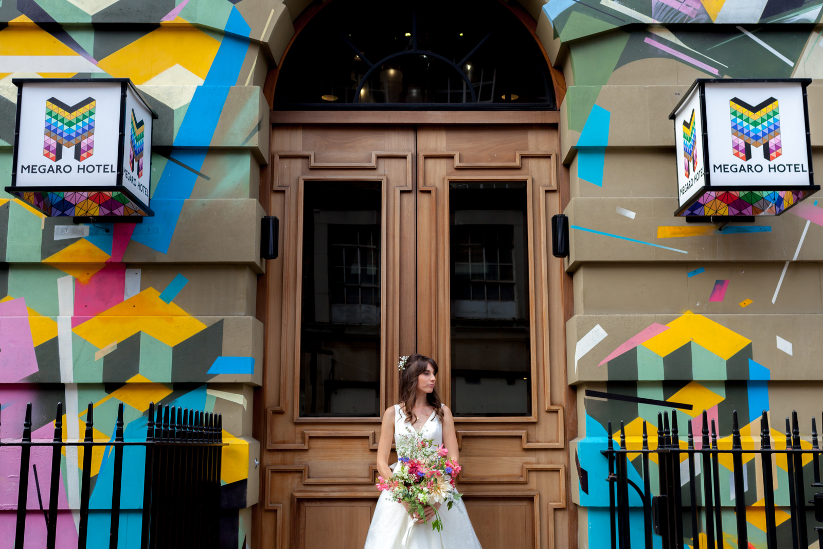 Unconventional wedding photographer London