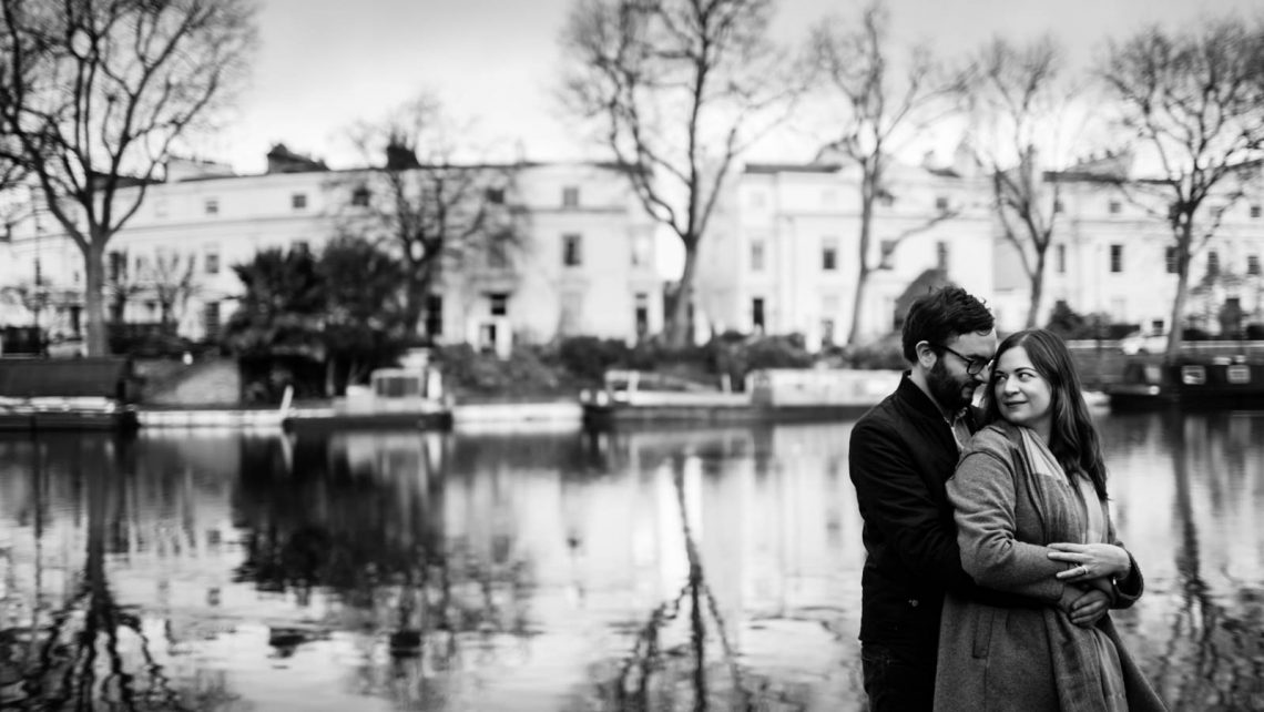 Little Venice pre wedding photoshoot