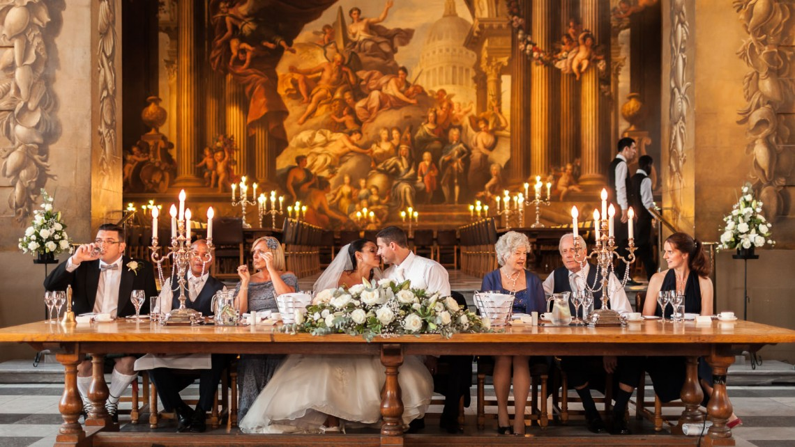 Royal Naval College Wedding photographer
