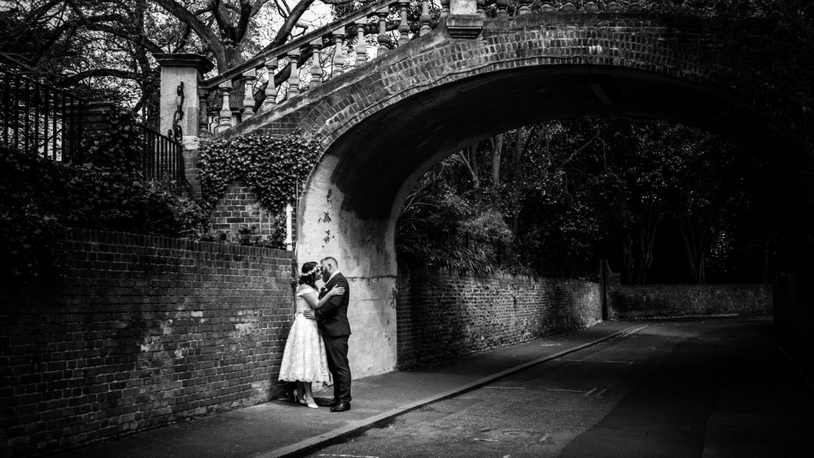 Unconventional wedding photographer Richmond Upon Thames Surrey