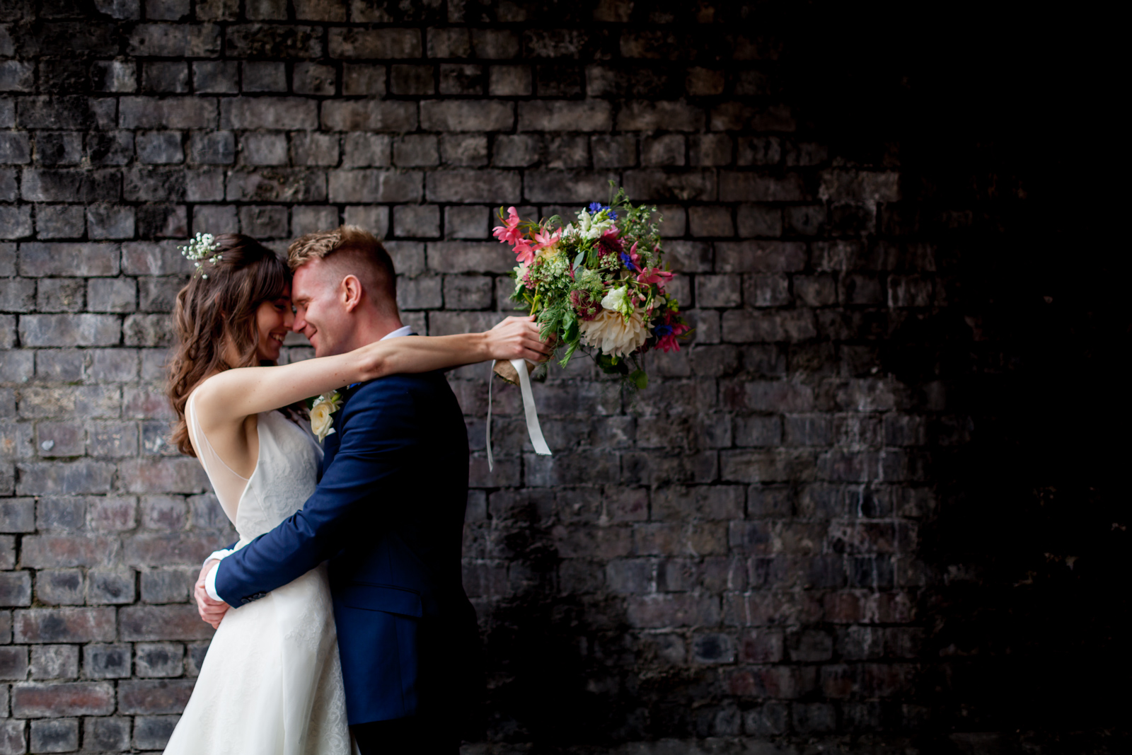 An Alternative wedding at The Brewhouse in London Fields