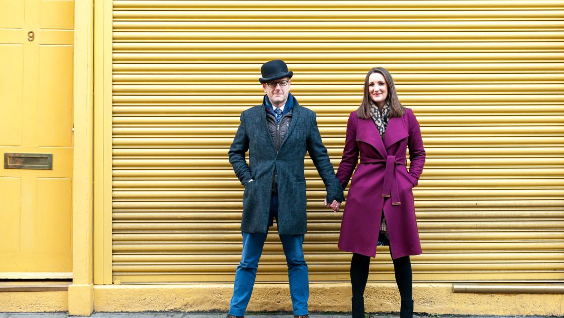 Pre Wedding Photoshoot at London's Borough Market