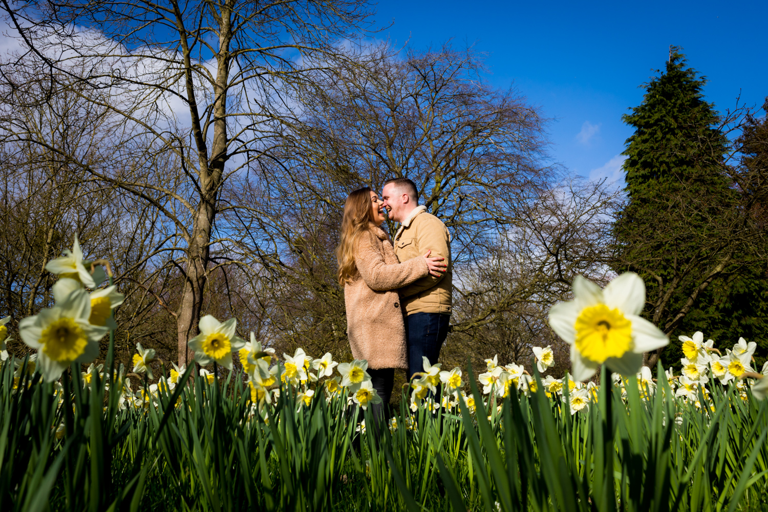 Engagement Photographer Hampton Court Palace Surrey